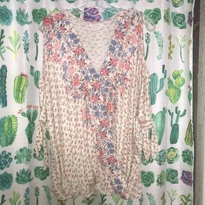 XXL Maurices Cold Shoulder Top